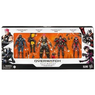 AU160 • Buy Overwatch - Ultimates Series Carbon Series Action Figure 4-Pack - Loot - BRAND N
