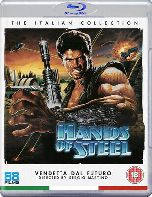 Hands Of Steel Blu-Ray (2016) Daniel Greene, Martino (DIR) Cert 18 ***NEW*** • 13.21£
