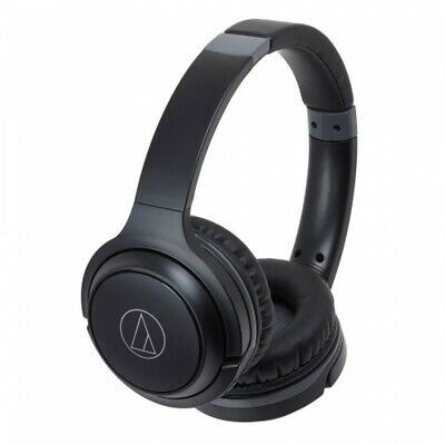 View Details Audio-Technica ATH-S200BT - Wireless Closed Back On-Ear Headphones - Black • 59.90£