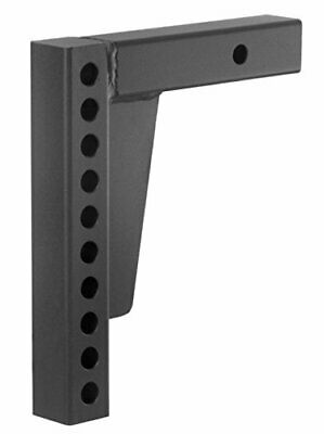 $59.99 • Buy Prime Steel Adjustible Trailer Hitch Tow Shank - 2  Receiver - 10 Hole