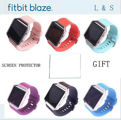 $ CDN3.99 • Buy Replacement Band For Fitbit Blaze Watch Strap Wristband W/ Screen Protector