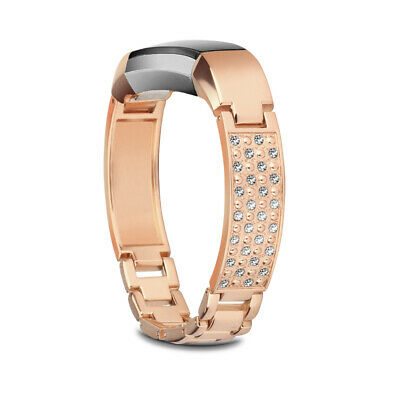 AU17.65 • Buy Replacement Metal Bands For Fitbit Alta / Alta HR Bracelet Jewelry Bangle Silver