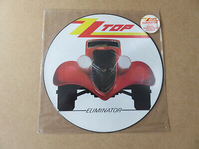 ZZ TOP Eliminator WARNER BROS.ORIGINAL 1985 UK PICTURE DISC LP W3774P • 49.99£