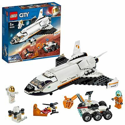 LEGO City Mars Research Shuttle Space Toy 60226 • 24.99£