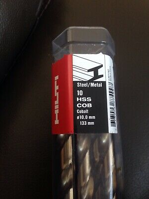 Hilti Twist Drill Bit HSS Co 10,0x133mm  • 12£