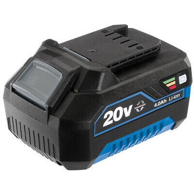 £47.99 • Buy Draper 89433 20v 4.0ah Stormforce Cordless Replacement Spare New Li-ion Battery
