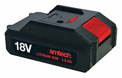 Am Tech 18v 1.3ah Cordless Replacement For V6515 V6520 Spare Li-ion Battery  • 21.99£