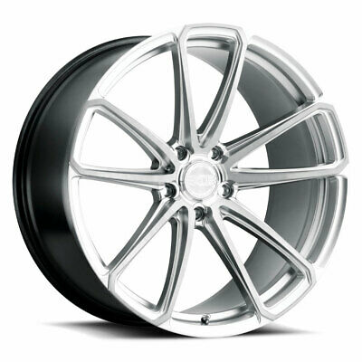 $1916 • Buy 20  XO Madrid Silver 20x9 Forged Concave Wheels Rims Fits Jaguar S-Type