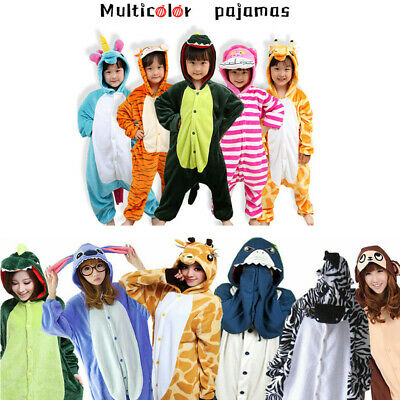 A Adult Unisex Kigurumi Animal Cosplay Costume Pajamas Onesiee Sleepwear Outfit  • 15.98£
