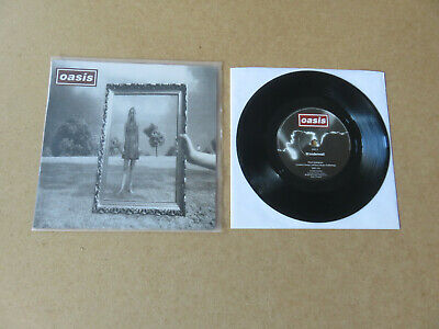 OASIS Wonderwall / Round Are Way CREATION RECORDS 1995 UK 1ST PRESSING 7  CRE215 • 69.99£