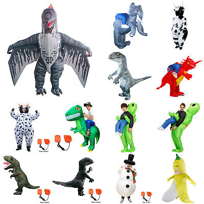 $28.59 • Buy Dinosaur Alien Snowman Inflatable Clothes Halloween Party Stage For Adults&Kids