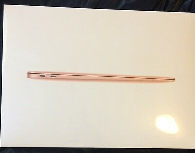 $899.99 • Buy Apple 13.3  MacBook Air 128GB Retina Display (2018, Gold) MREE2LL/A *NEW SEALED*