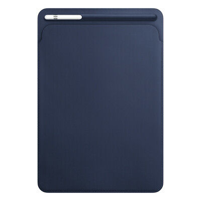 Apple Natural Leather Sleeve Pouch Case - IPad Pro 10.5 Inch - Midnight Blue  • 24.99£