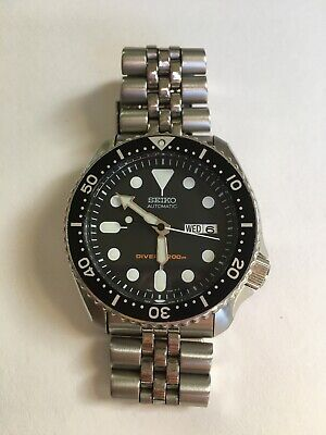 $ CDN435.38 • Buy Seiko Divers Automatic Watch 200m 7S26-0020 Stainless Steel Wrist Watch For Men