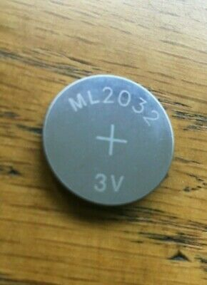 AU7.04 • Buy NEW ML2032 ML 2032 Rechargeable Button Cell Battery For Logitech K750 Keyboard