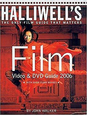 £5.99 • Buy Halliwell's Film Video And DVD Guide 2006 Perfect John Walker