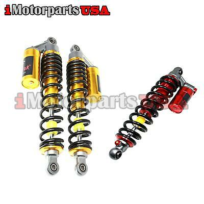 $529.95 • Buy Red Stage 3 Performance Front & Rear Shock Absorbers Yamaha Raptor 660r 700 700r