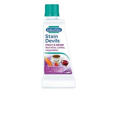 DR Beckmann Stain Devils Remover Cleaner Fruit Drink Red Wine Coffee Wash 50ml  • 2.99£