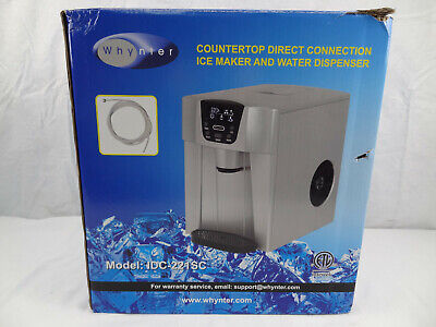 Whynter Countertop Direct Connection Ice Maker & Water Dispenser ,New Opened Box • 178.69$