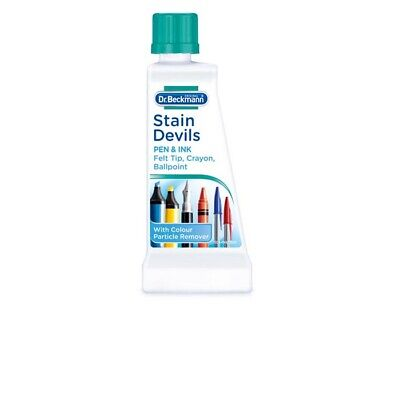 DR Beckmann Stain Devils Remover Cleaner Pen Ink Felt Ballpoint Washing 50ml  • 5.49£