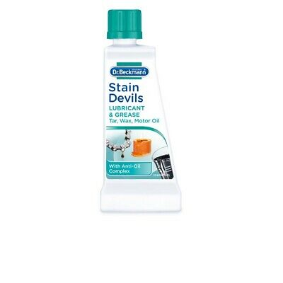 DR Beckmann Stain Devils Remover Cleaner Lubricant Grease Tar Oil Washing 50ml  • 2.99£