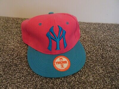 YMCMB Pink & Turquoise Snapback Adult Cap Hat • 19.99£
