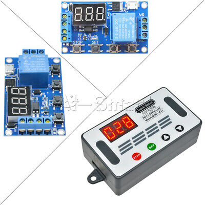 £4.39 • Buy 5V LED Automation Delay Timer Controller Switch DC 6-30V Relay Module Micro USB