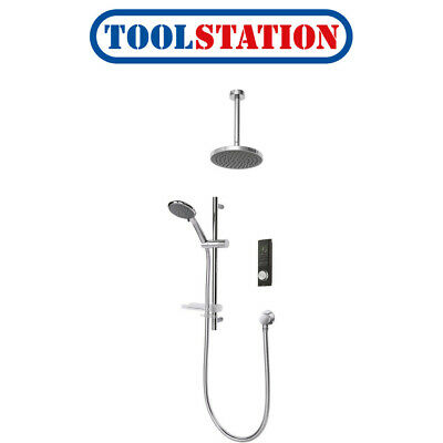 Triton Home Thermostatic Digital Mixer Shower Pumped Ceiling Fed • 419.98£