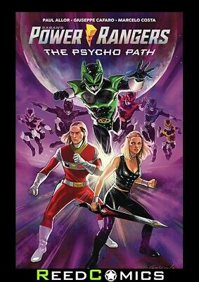 £15.99 • Buy POWER RANGERS PSYCHO PATH ORIGINAL GRAPHIC NOVEL (112 Pages) New Paperback