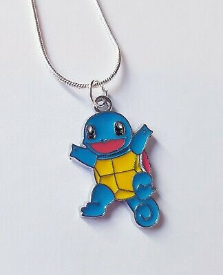 Squirtle Starter Pokemon Necklace Switch Gamer • 3£