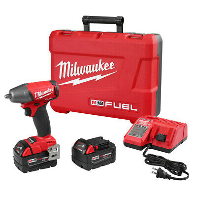 Milwaukee 2754-22 M18 FUEL Cordless 3/8  Impact Wrench W/Friction Ring Kit • 289$