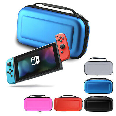 For Nintendo Switch Hard Shell Carrying Case Protective Travel Storage Bag • 7.99$