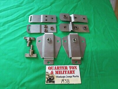 $115 • Buy Top Bow Bracket Kit M38 G740 Fits M38 1950-52 Military Willys Jeep