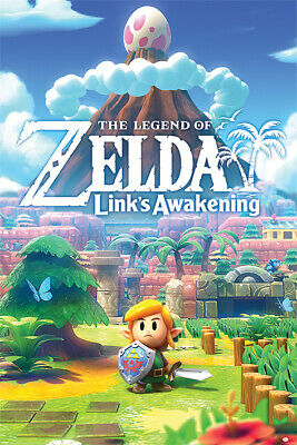 $10.50 • Buy LEGEND OF ZELDA - LINK'S AWAKENING POSTER - 24x36 - 3466