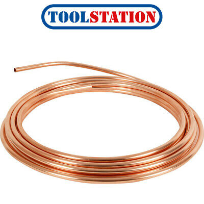 Wednesbury Microbore Copper Pipe Coil 10mm X 10m • 22.44£