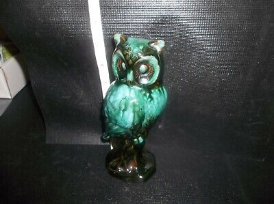 $ CDN19.99 • Buy Vintage Perched Owl Blue Mountain Pottery Green Black
