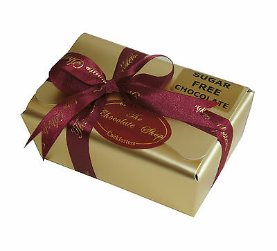 Klingele No Added Sugar Diabetic 14 X Chocolates In Gold Ballotin Box 200g • 12.95£
