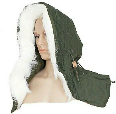 $35.18 • Buy US Military Extreme Cold Weather Hood W/ Synthetic Fur Ruff 4 M-65 Or M-51 Parka