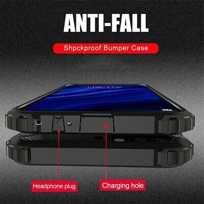 Military Case For Xiaomi Redmi Note 8 Pro 7 6 Shockproof Armor Hybrid Hard Cover • 3.13$