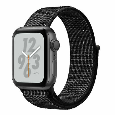$ CDN548.97 • Buy Apple Watch Series 4 Nike+ 40 Mm Space Gray Aluminum Case With Black Nike Sport