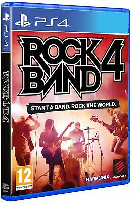 AU53.69 • Buy Rock Band 4 (Game Only) Playstation 4 PS4 **FREE UK POSTAGE!!**