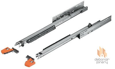 £46.51 • Buy Blum Movento Push To Open TIP-ON Full Extension Drawer Runners 760H 40kg
