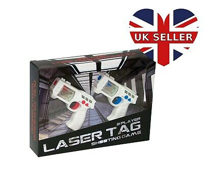 £19.99 • Buy 2 Player Laser Shooting Game With Sound Effects Lazer Tag Ages 7+
