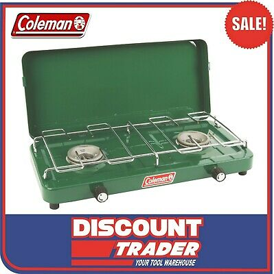 AU56.90 • Buy Coleman Compact 2 Burner Gas Cooking Camping Stove - 1451707