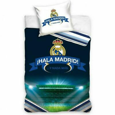 Real Madrid FC Single Bed Duvet Quilt Cover Bedding Set Stadium • 28.19£