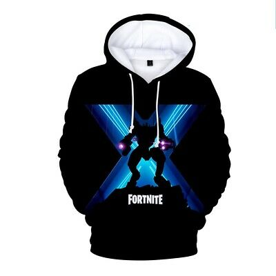 $ CDN13.07 • Buy NEW Fortnight Gamer 3D Chapter2 Battle Royale Men Women Warm Hoodies Sweatshirts