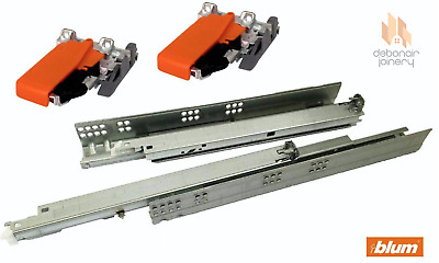 £16.98 • Buy Blum Tandem Single Extension Drawer Runners With BLUMOTION