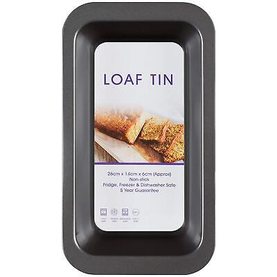 Large Rectangle Bread Loaf Tin Non Stick Oven Dish Fresh Bake Cake Kitchenware • 5.60£