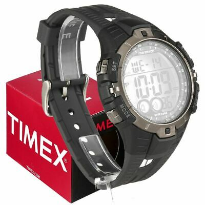 Timex Mens Quartz Watch With Lcd Dial Digital Display And Resin Strap Black • 28.25£
