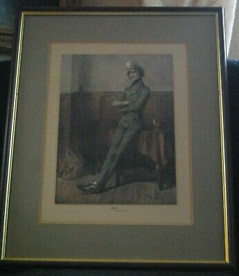 Dickens Coloured Engraving  Jingle  By Frank Reynolds • 35£